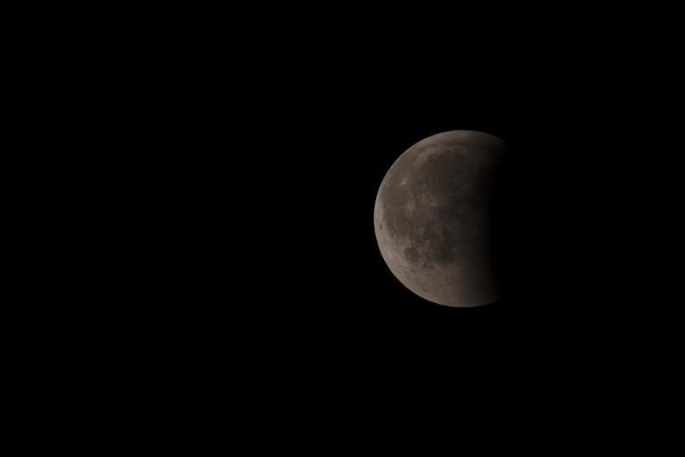 Blood moon transforming back
